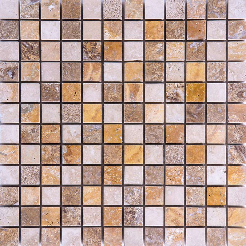 Travertine Mix Honed KM010
