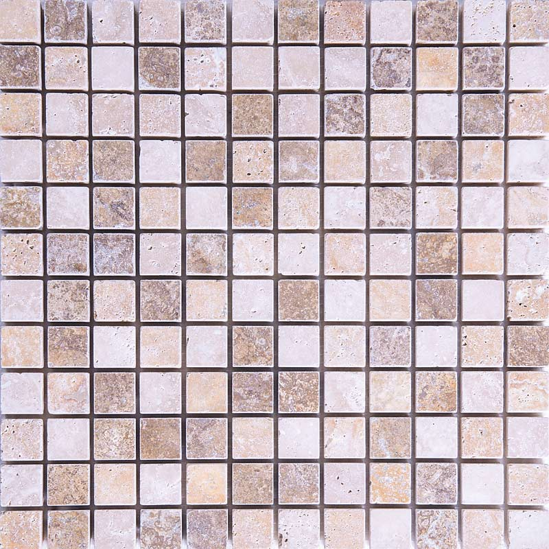 Travertine Mix Tumbled KM011